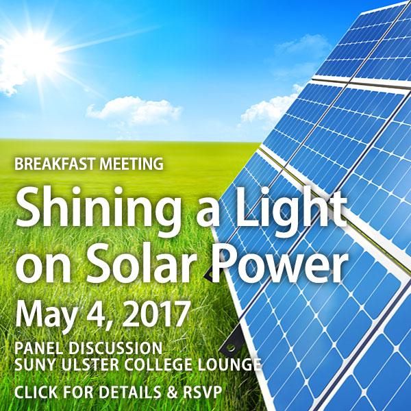 RVBA Shines Light on Solar Power